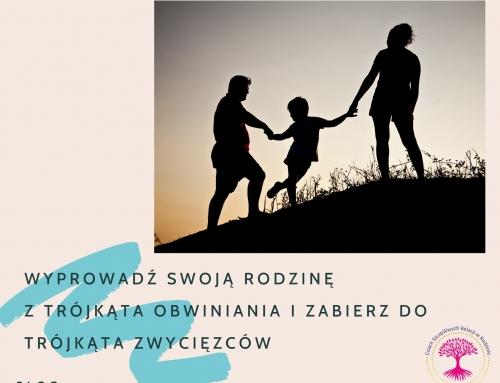 Wyprowadź swoją rodzinę z TRÓJKĄTA OBWINIANIA 🔻 i zabierz do TRÓJKĄTA ZWYCIĘZCÓW🔺